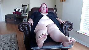 Ssbbw foot queen