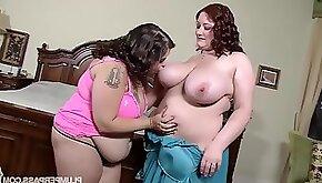 Plump Tub Lovin BBW Reyna Mae Sydney Screams making out