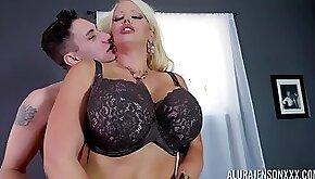 Alura Jenson hot curvy mommy porn video