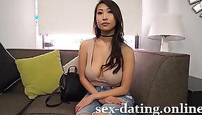 Ebony Fucks Asian Big Dick