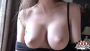 Dark Hair Babe sister point of view with creampie