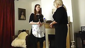 MarianneApologetic maid gets punished