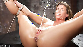 Ariel X The Pope in Ariel X Extreme Brutal Torment And Squirting Orgasms HogTied