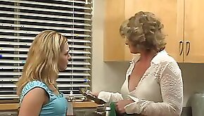 Teen school girl goes to bed with a sexy mature