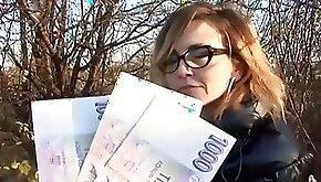 Miss Marketa loves money and cocks