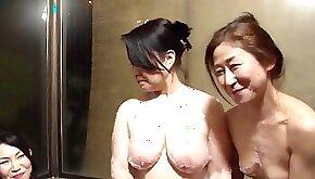 Mature women enjoy a hot lesbian sex game
