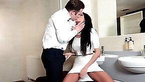 Businessman using high class escort Anissa Kate