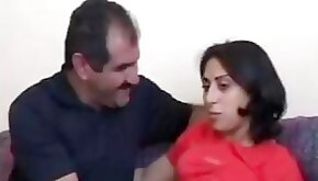 Turkish wife fucking session with husband