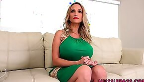 Extremely wild and giant breasted blondie Billi Bardot is fucked hard
