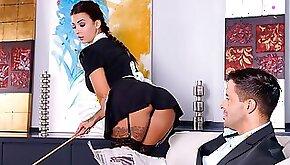Sexy Maid Fucked Doggy Style