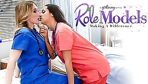 Riley Reyes Sofi Ryan in Role Models Making A Difference Scene GirlsWay
