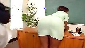 Big Ass Milf fucked in classroom