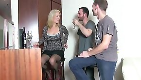 Watch this milf ... retty face while getting fucked