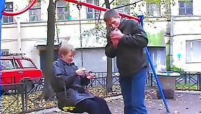 Old Russian broad is eager for his dick to pound her hole