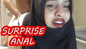 PAINFUL ANAL fun WITH MARRIED HIJAB WOMAN !